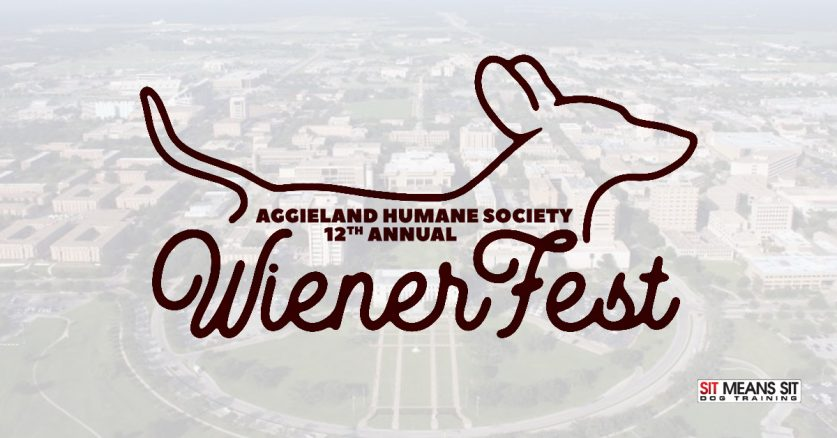 Aggieland Humane Society's Wiener Fest 2018.